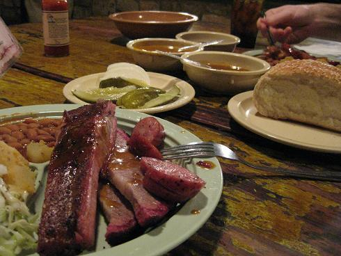 Yum-O! at the Salt Lick