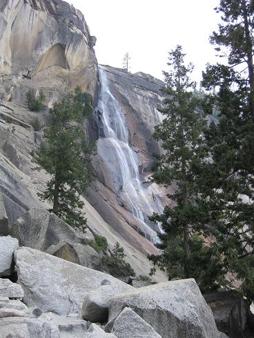 Approaching Nevada Falls