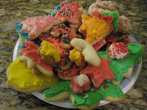 Colorful Sugar Cookies