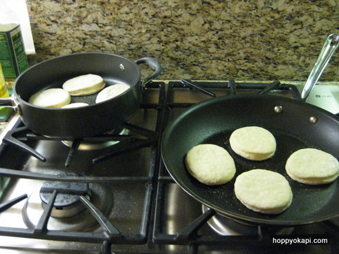 My double-burner skillet solution
