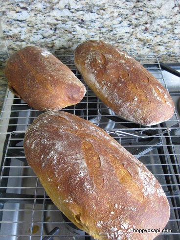 Sweet Potato Bread, finished loaves