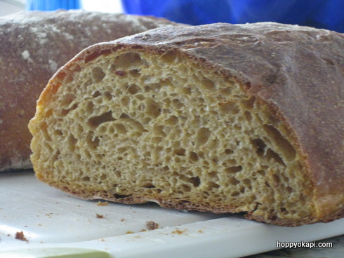 Sweet Potato Bread, the Crumb Shot